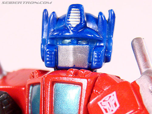 Robot Heroes Optimus Prime with Supermetal Finish (G1) gallery