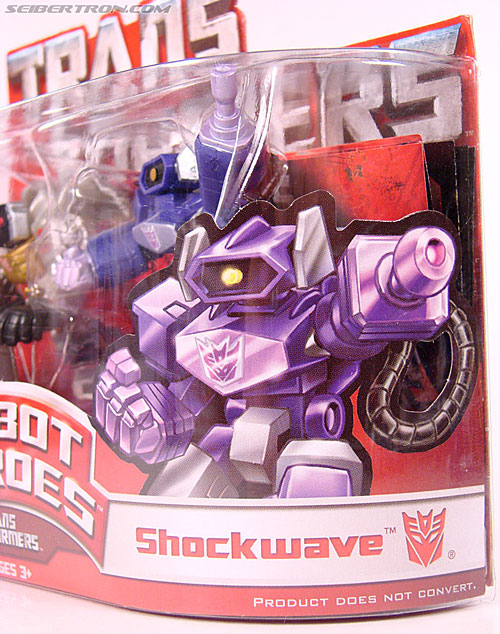 Transformers Robot Heroes Shockwave (G1) (Image #1 of 31)