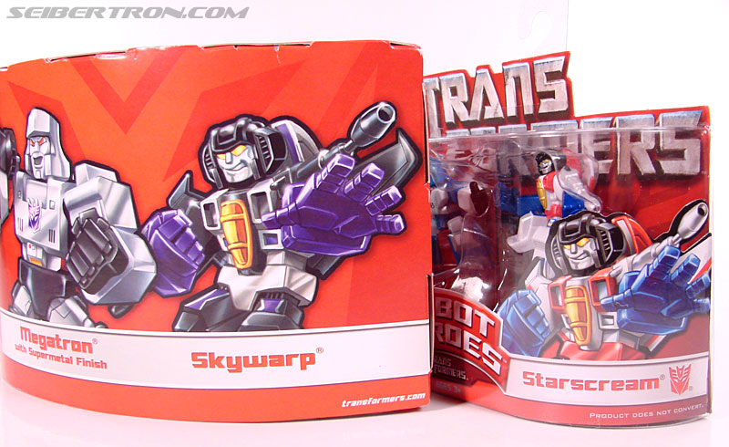 Transformers Robot Heroes Skywarp (G1) (Image #1 of 52)