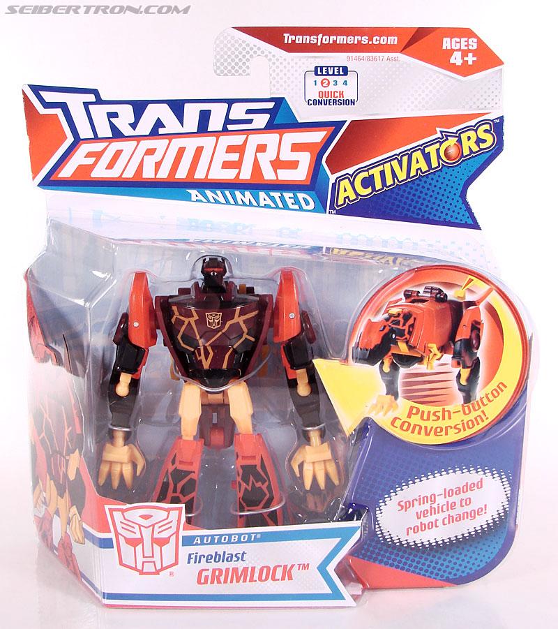 Transformers Animated Fireblast Grimlock (Image #1 of 90)