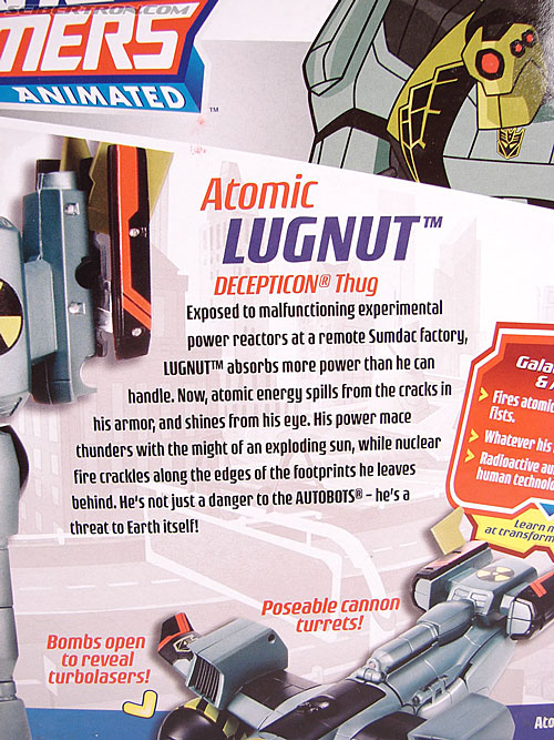 Transformers Animated Atomic Lugnut (Image #9 of 82)
