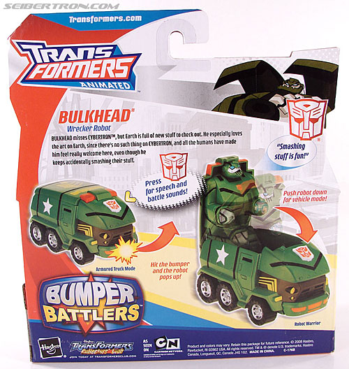 Transformers Animated Bulkhead (Image #6 of 50)
