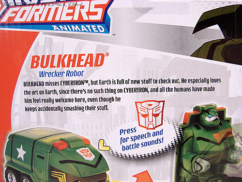 Transformers Animated Bulkhead (Image #7 of 50)