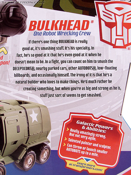Transformers Animated Bulkhead (Ironhide) (Image #12 of 131)