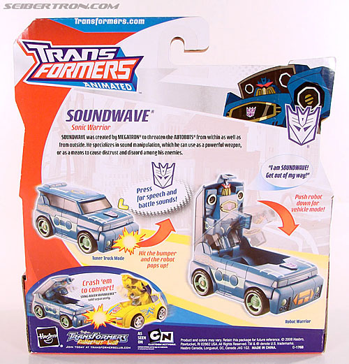 Transformers Animated Soundwave (Image #8 of 62)