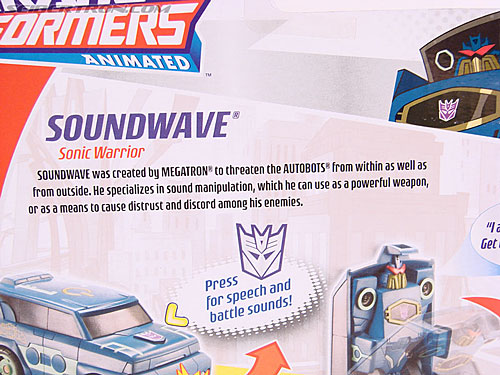 Transformers Animated Soundwave (Image #9 of 62)