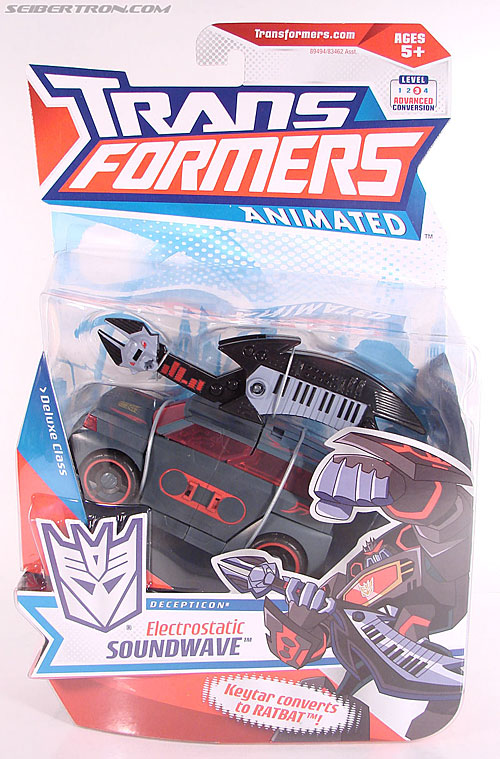Transformers Animated Electrostatic Soundwave (Soundblaster) (Image #1 of 144)