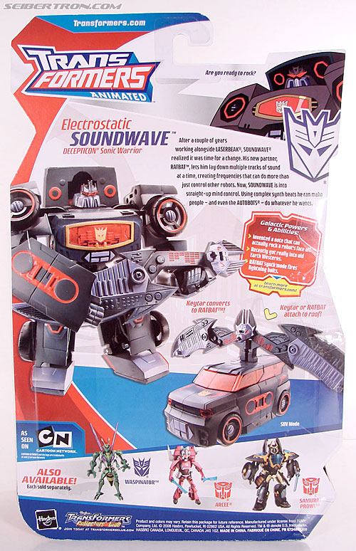 Transformers Animated Electrostatic Soundwave (Soundblaster) (Image #7 of 144)