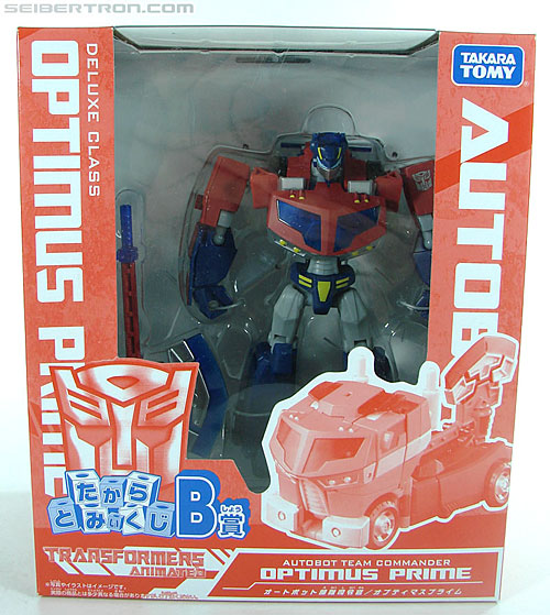 Transformers Animated Optimus Prime (Image #1 of 120)