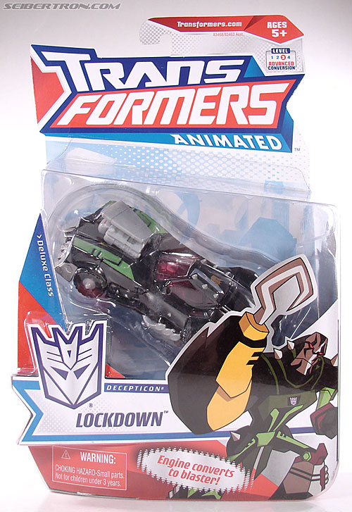 Transformers Animated Lockdown (Image #2 of 191)