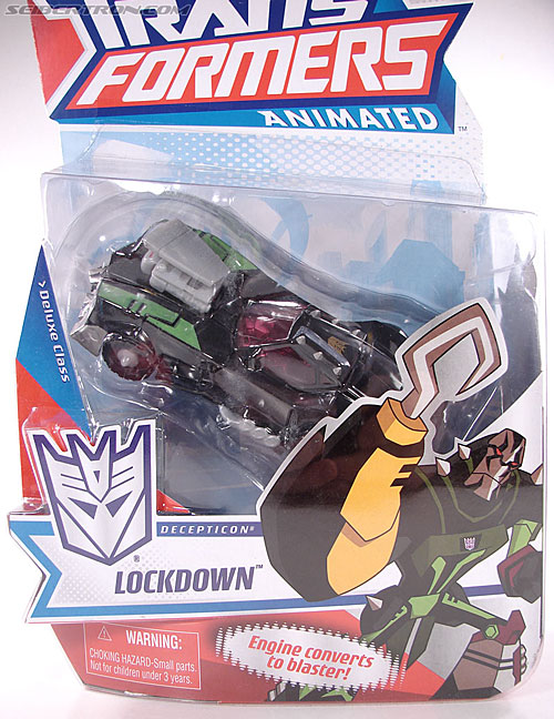 Transformers Animated Lockdown (Image #3 of 191)