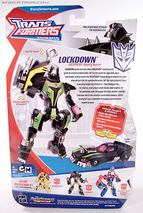 Transformers Animated Lockdown (Image #14 of 191)