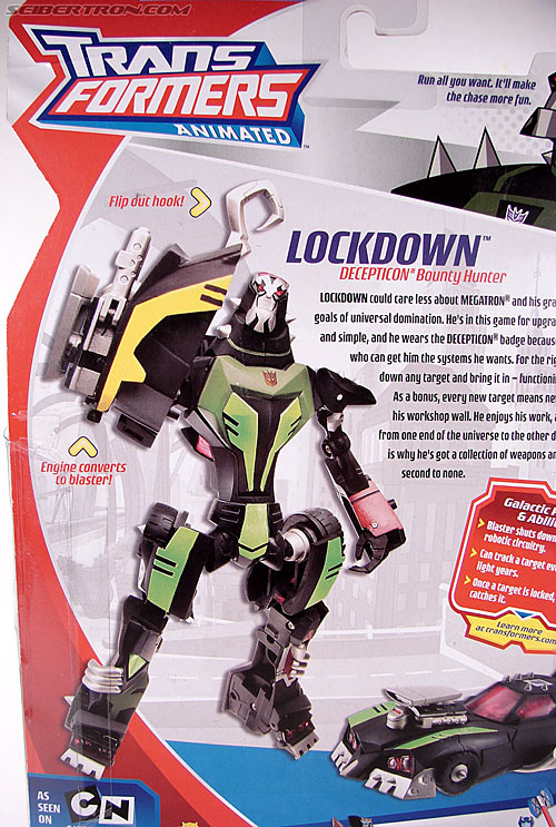 Transformers Animated Lockdown (Image #18 of 191)