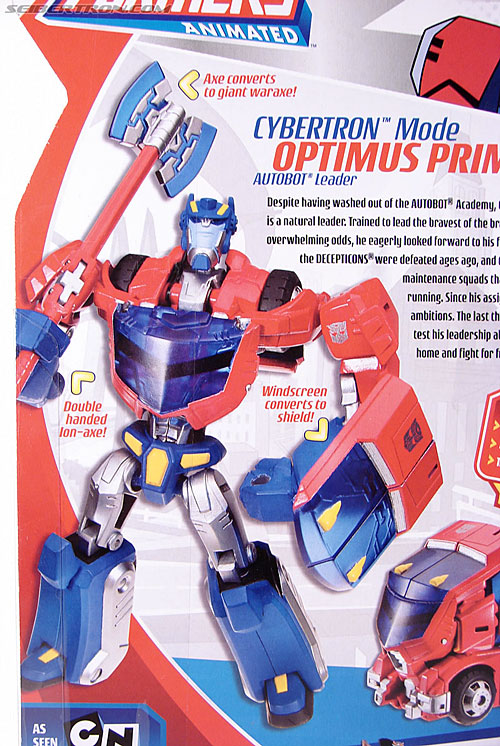 Transformers Animated Optimus Prime (Cybertron Mode) (Image #10 of 125)