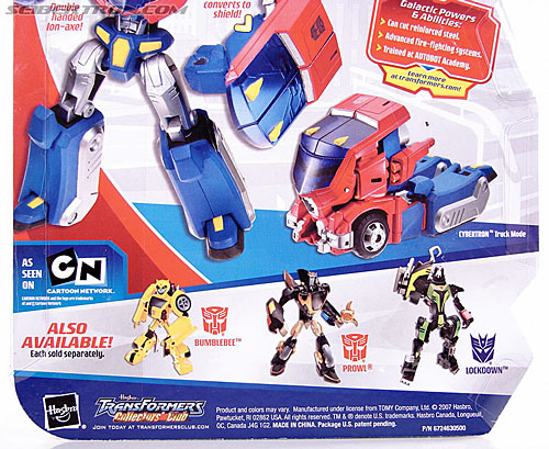 Transformers Animated Optimus Prime (Cybertron Mode) (Image #12 of 125)