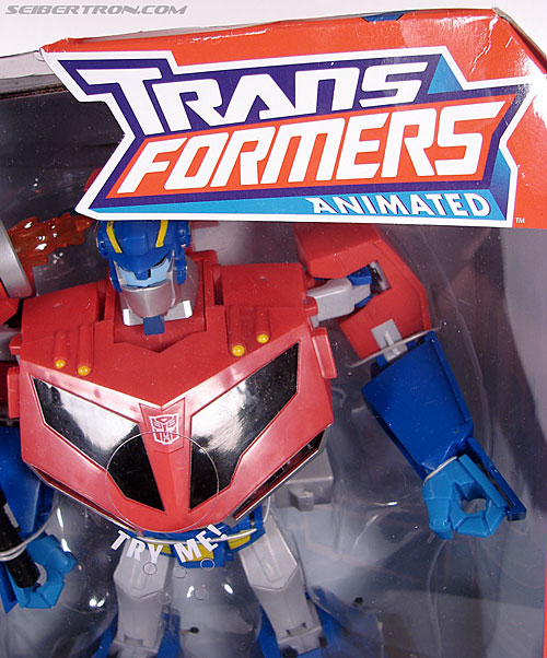 Transformers Animated Optimus Prime (Roll Out Command) (Image #2 of 81)