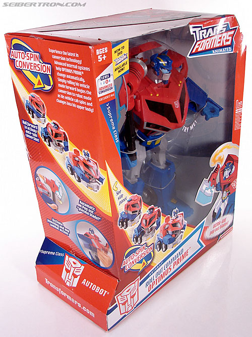 Transformers Animated Optimus Prime (Roll Out Command) (Image #6 of 81)