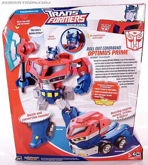 Transformers Animated Optimus Prime (Roll Out Command) (Image #9 of 81)