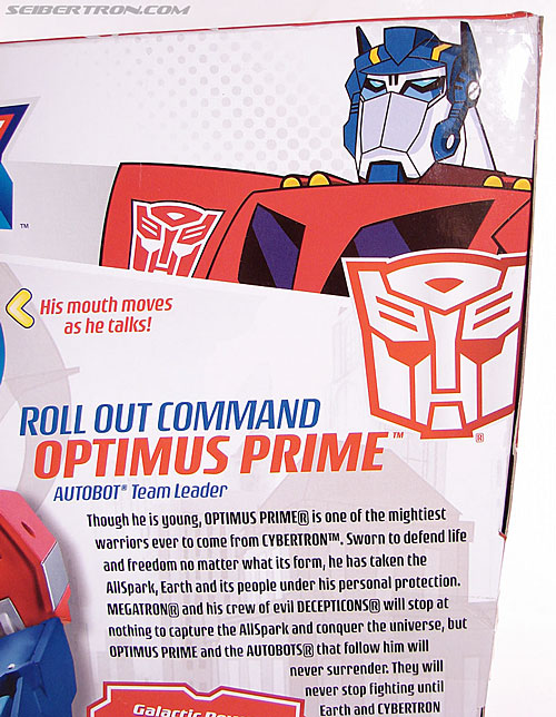 Transformers Animated Optimus Prime (Roll Out Command) (Image #11 of 81)