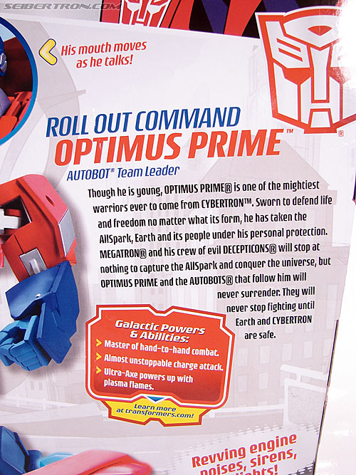 Transformers Animated Optimus Prime (Roll Out Command) (Image #12 of 81)