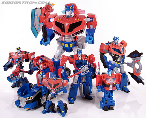 Transformers Animated Optimus Prime (Roll Out Command) (Image #80 of 81)