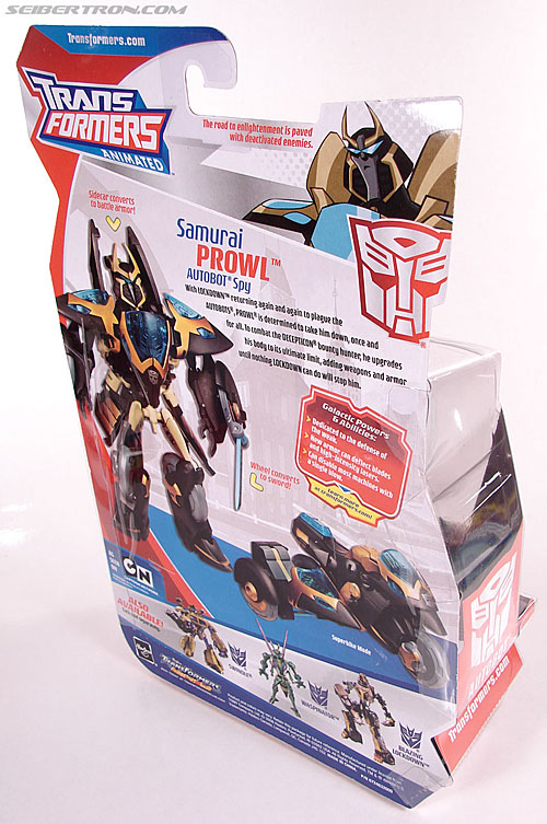 Transformers Animated Samurai Prowl (Image #7 of 122)