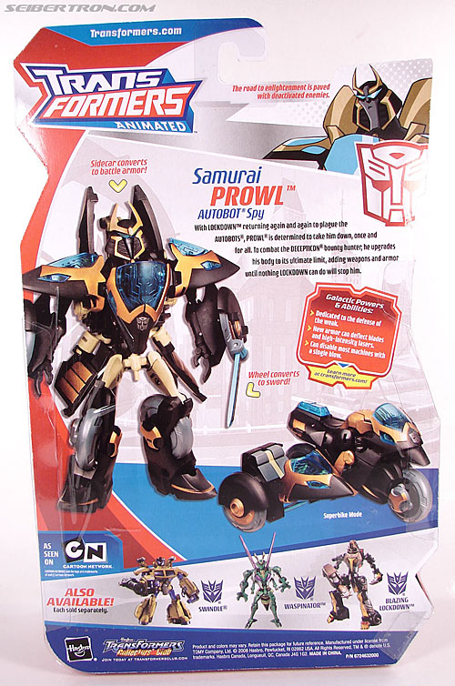 Transformers Animated Samurai Prowl (Image #8 of 122)