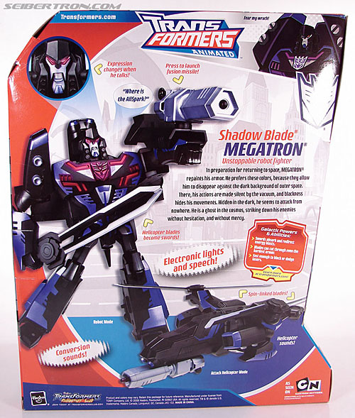 Transformers Animated Shadow Blade Megatron (Image #10 of 84)