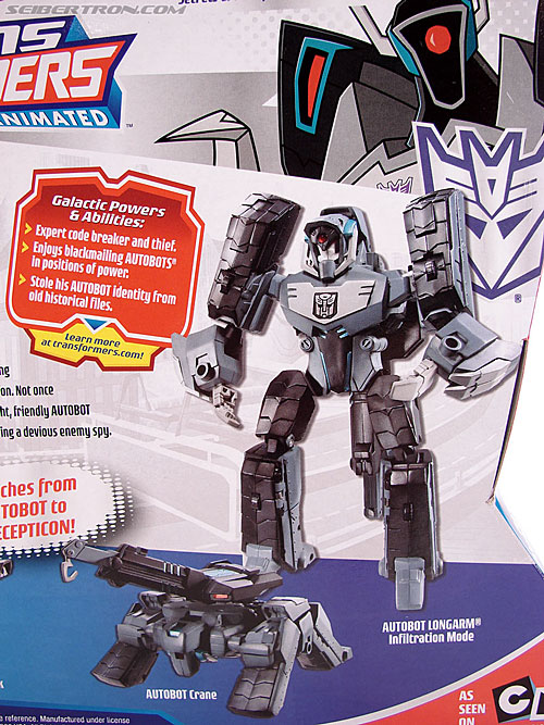 Transformers Animated Shockwave (Longarm Prime) (Image #11 of 199)