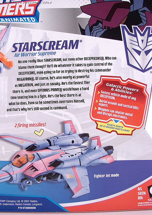 Transformers Animated Starscream (Image #11 of 154)