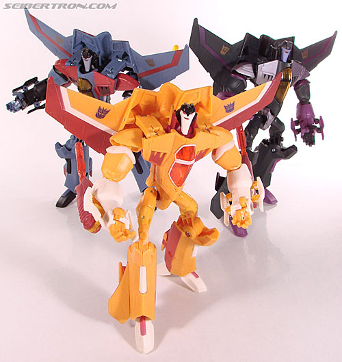New Toy Galleries: Animated Sunstorm and Purple Shockwave