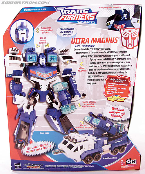 Transformers Animated Ultra Magnus (Image #10 of 152)