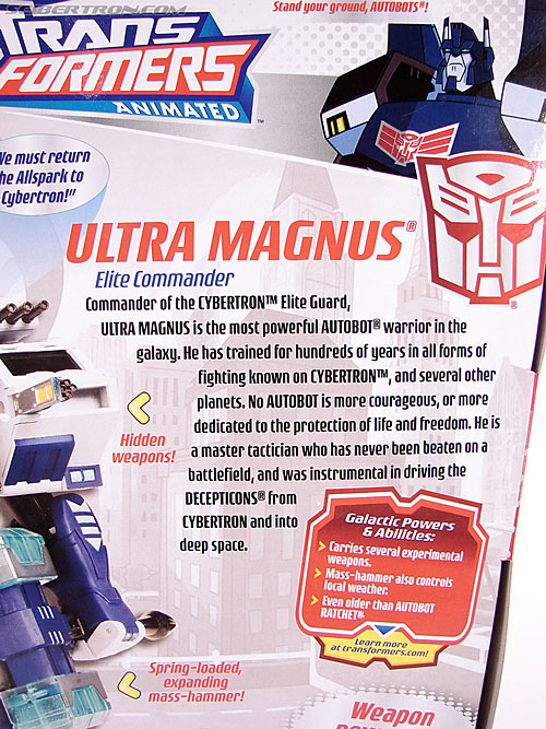 Transformers Animated Ultra Magnus (Image #12 of 152)