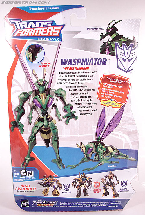Transformers Animated Waspinator (Wasp) (Image #8 of 110)