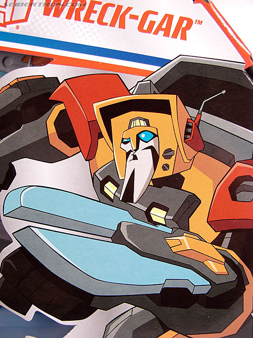 Transformers Animated Wreck-Gar (Image #3 of 108)