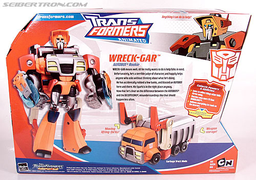 Transformers Animated Wreck-Gar (Image #10 of 108)