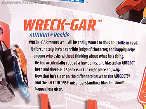 Transformers Animated Wreck-Gar (Image #12 of 108)