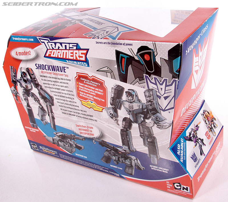 Transformers Animated Shockwave (Longarm Prime) (Image #8 of 199)