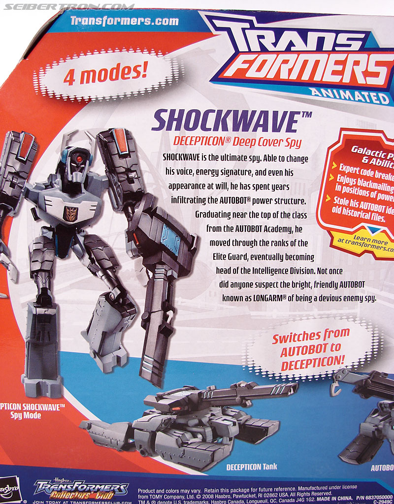 Transformers Animated Shockwave (Longarm Prime) (Image #10 of 199)
