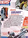 Transformers Animated Atomic Lugnut - Image #9 of 82