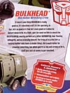 Transformers Animated Bulkhead - Image #12 of 131