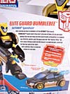 Transformers Animated Elite Guard Bumblebee - Image #11 of 83