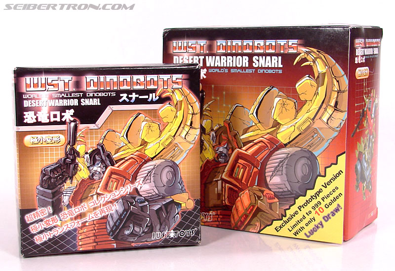 Smallest Transformers Snarl (Desert Warrior) (Image #19 of 99)