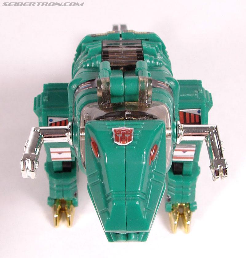 Smallest Transformers G2 Grimlock (Green) (Reindeer Commander) (Image #2 of 61)