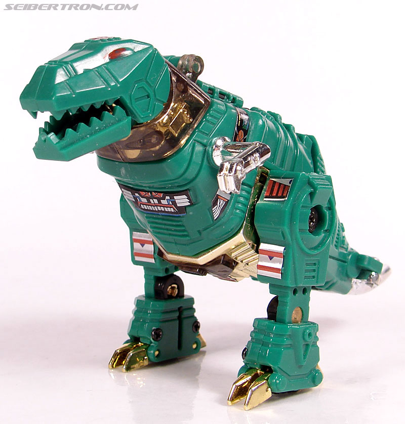 Smallest Transformers G2 Grimlock (Green) (Reindeer Commander) (Image #12 of 61)