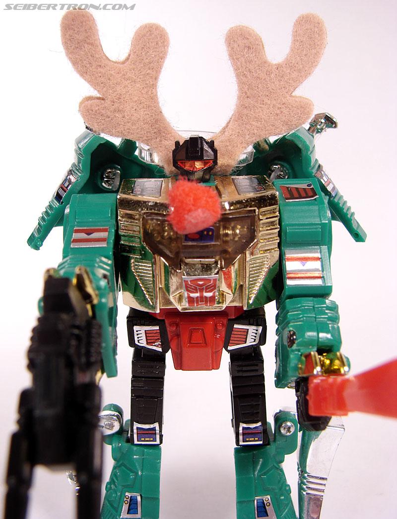 Smallest Transformers G2 Grimlock (Green) (Reindeer Commander) (Image #59 of 61)