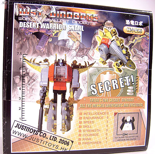 Smallest Transformers Snarl (Desert Warrior) (Image #10 of 99)