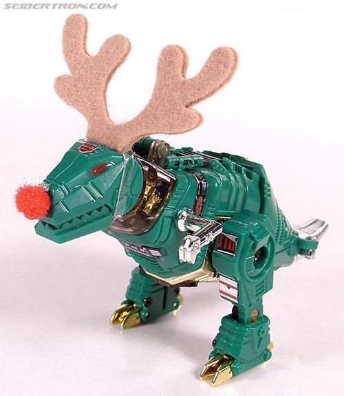 Smallest Transformers G2 Grimlock (Green) (Reindeer Commander) (Image #17 of 61)