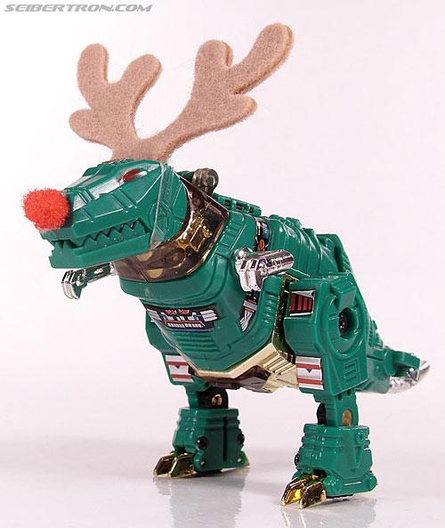 Smallest Transformers G2 Grimlock (Green) (Reindeer Commander) (Image #18 of 61)