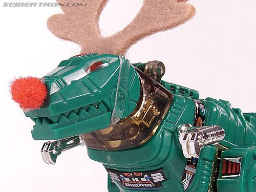 Smallest Transformers G2 Grimlock (Green) (Reindeer Commander) (Image #19 of 61)